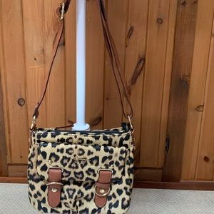 Jessica Simpson Leopard Crossbody Purse